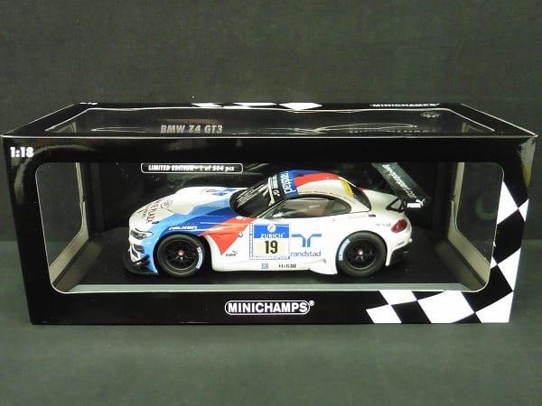 ミニチャンプス 1/18 BMW Z4 GT3 チーム シューベルト