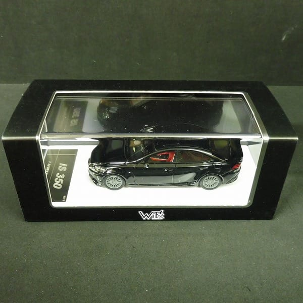 ウィッツ 1/43 IS 350 Fスポーツパーツ TRD ブラック