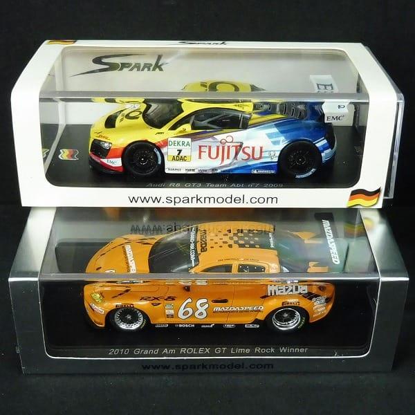 スパーク 1/43 アウディ R8 GT3 チーム Abt #7 2009 他