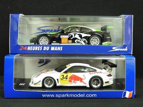 スパーク 1/43 ポルシェ 997 GT3 R バルセロナ #34 2010