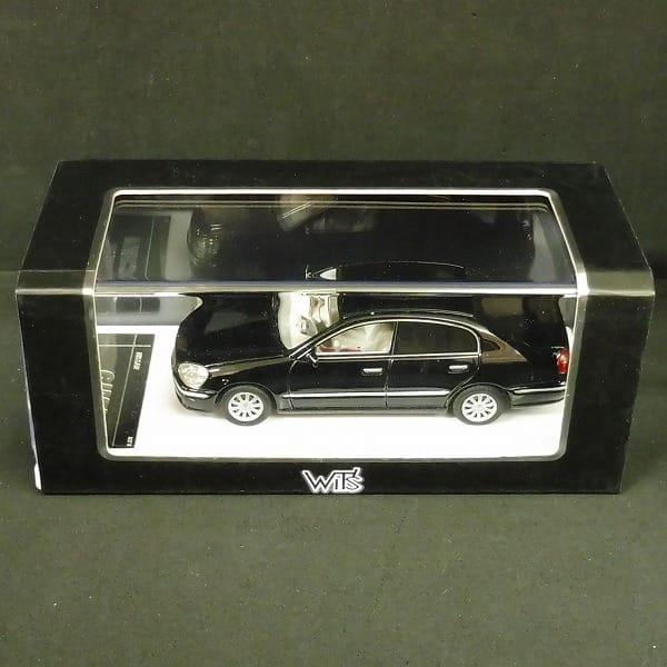 WIT'S 1/43 シーマ 450XV スーパーブラック/ミニカー