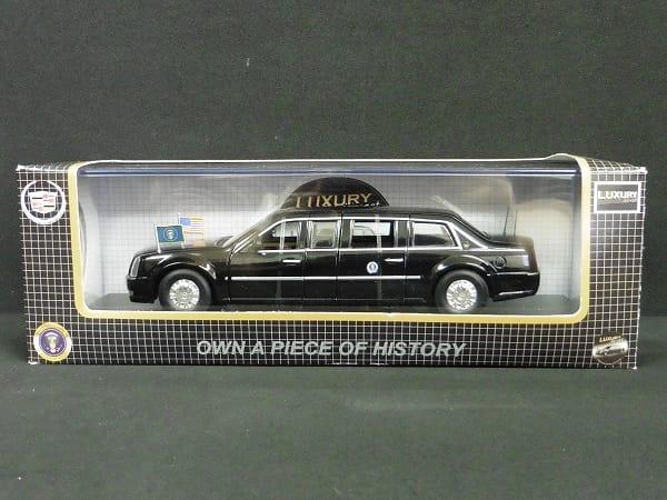 LUXURY 1/43 キャディラック リムジン '09 大統領専用車