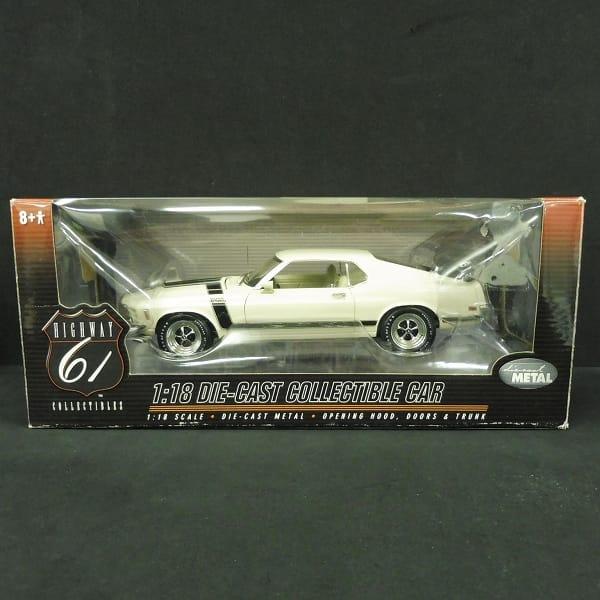 ハイウェイ61 1/18 フォード マスタング BOSS 302