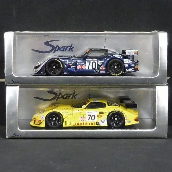 スパーク 1/43 マーコス LM 600 n°70 LM 1995 1997