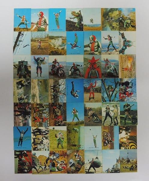 カルビー 当時物 旧 仮面ライダーV3 カード 3-165 49枚