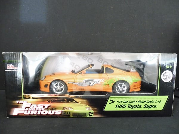 レーシングチャンピオン 1/18 1995 トヨタスープラ