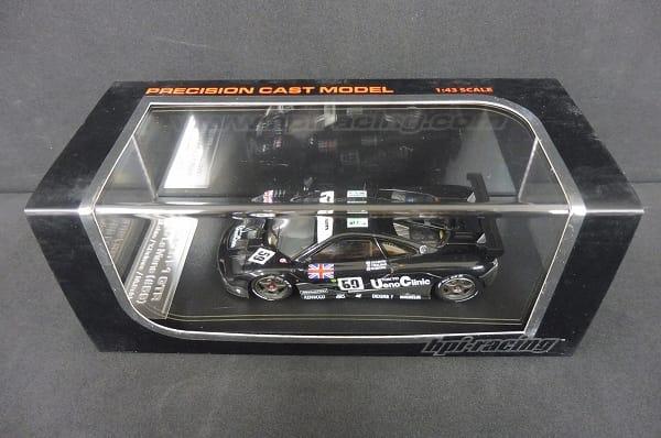 hpi 1/43 マクラーレン F1 GTR 1995 ルマン ミニカー