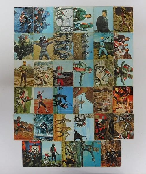 カルビー 当時物 旧 仮面ライダー カード 117 - 161
