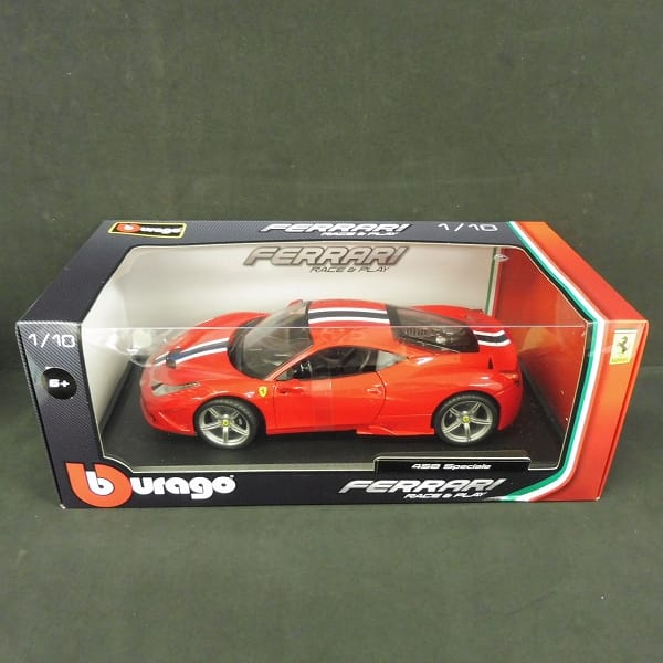 ブラーゴ 1/18 フェラーリ 458 スペチアーレ / レッド