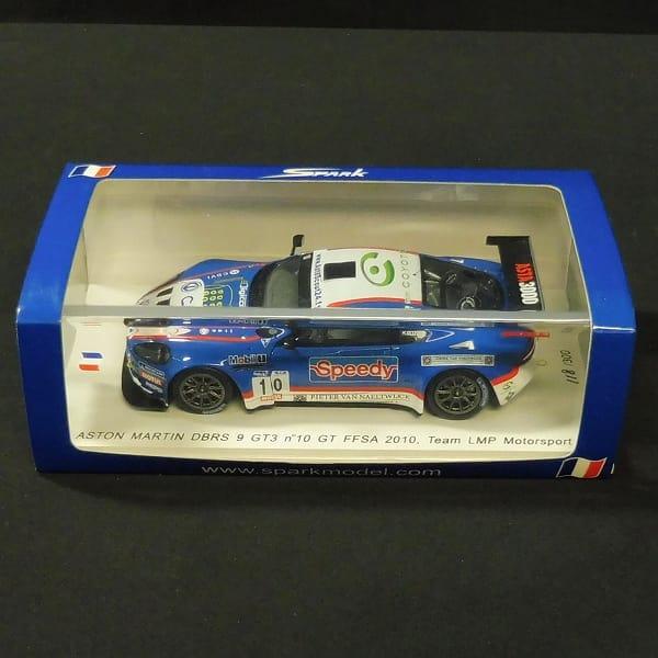 スパーク 1/43 アストンマーチン DBRS9 GT3 LMP2010#10