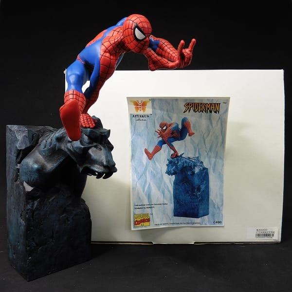 アタカス スパイダーマン / スタチュー SpiderMan On Gargoyle