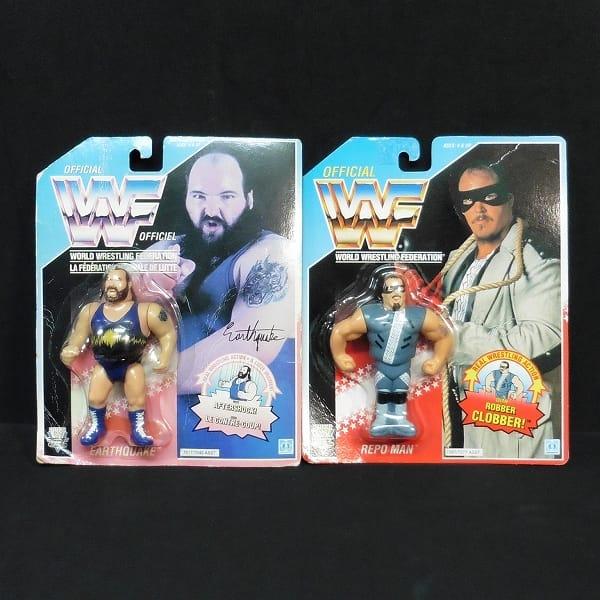 ハズブロ WWF フィギュア アースクエイク リポマン
