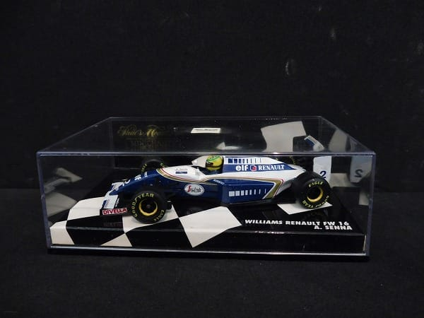 PMA ミニチャンプス 1/43 ウィリアムズ ルノー FW16 A.セナ