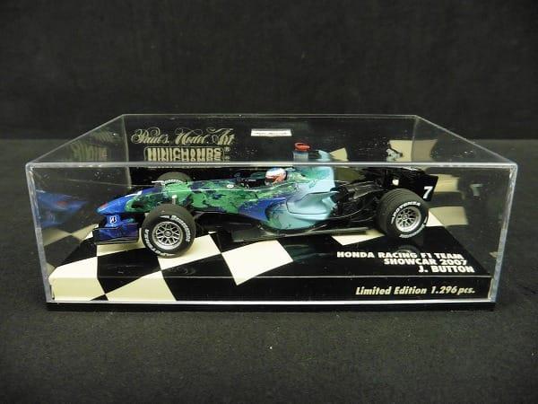 ミニチャンプス PMA 1/43 ホンダ F1 ショーカー 2007 J.バトン