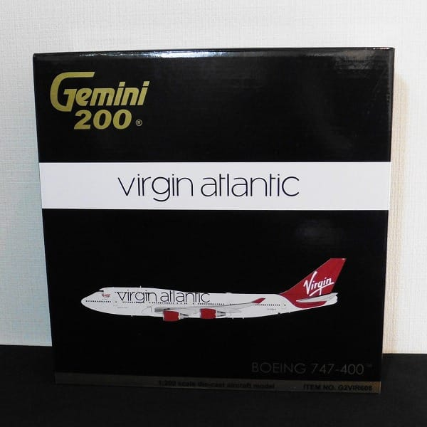 ジェミニ 1/200 B747-400 ヴァージン アトランティック航空