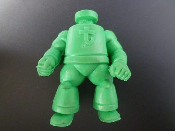 キン消し 募集超人 応募超人 キング・ザ・100t 緑色