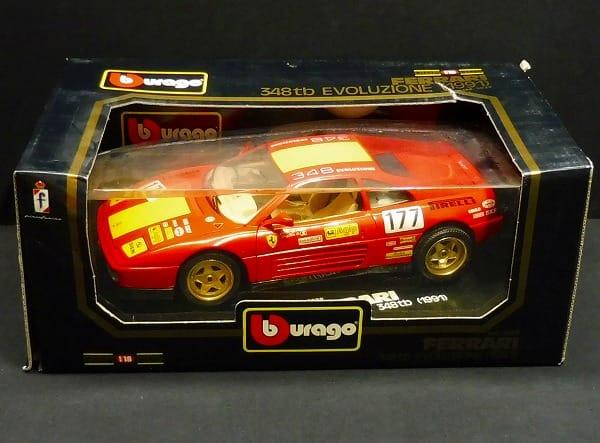 ブラーゴ 1/18 フェラーリ348tb  EVOLUZIONE 1991 #177