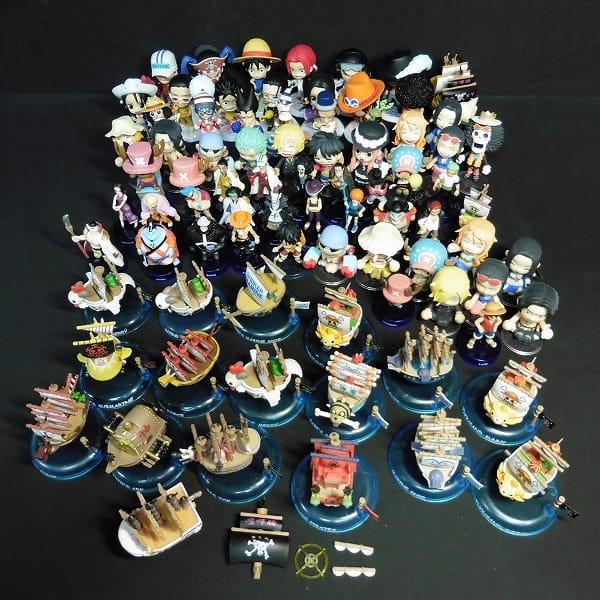 ワンピース フィギュア ワーコレ 海賊船 ナミ サンジ 他