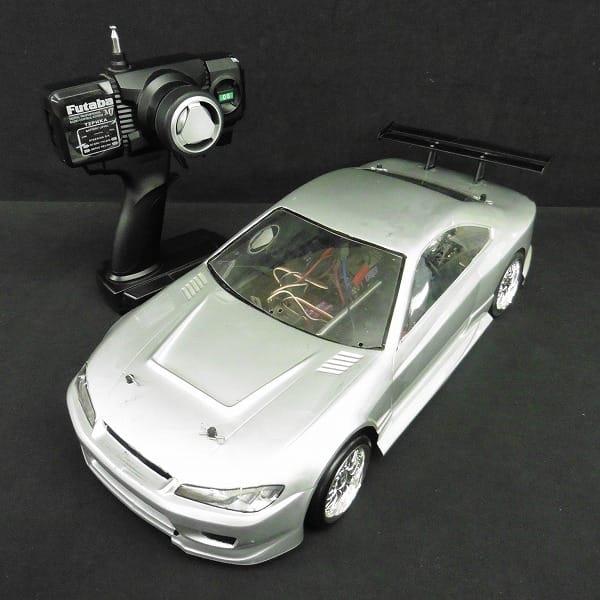 ラジコン シルビア プロポ付き / フタバ S3003 T2PHKA