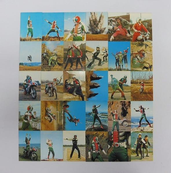カルビー 当時物 旧 仮面ライダーV3 カード 1-60 30枚