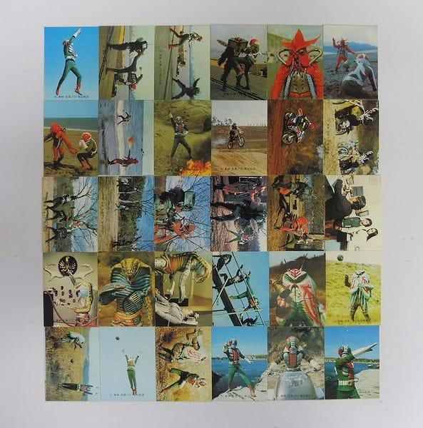 カルビー 当時物 旧 仮面ライダーV3 カード 67-135 30枚_1