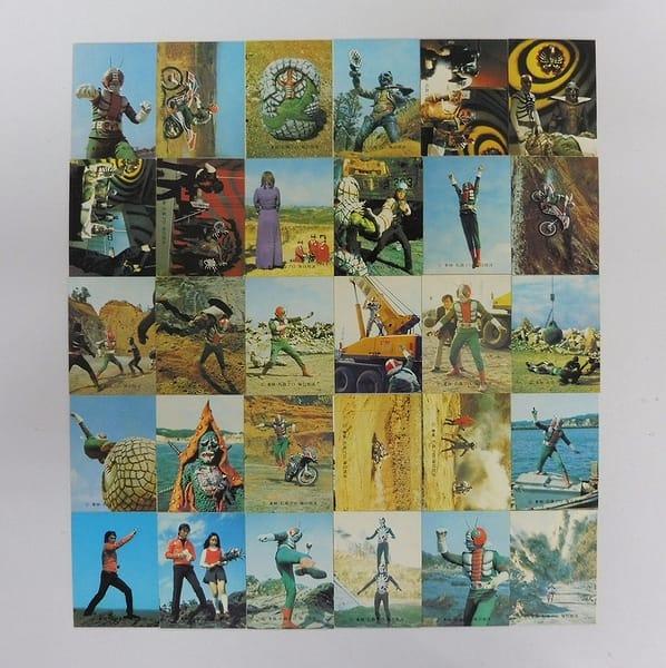 カルビー 当時物 旧 仮面ライダーV3 カード 137-217