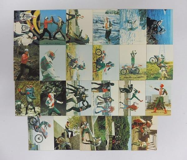 カルビー 当時物 旧 仮面ライダーV3 カード 218-336
