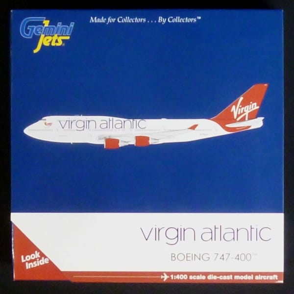 ジェミニ 1/400 B747-400 ヴァージンアトランティック