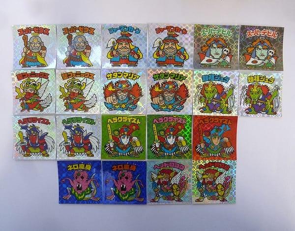 ビックリマン BMセレクション 1期 ネット レアロゴ 21種