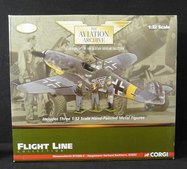 コーギー 1/32 メッサーシュミット Bf-109G-6 ドイツ