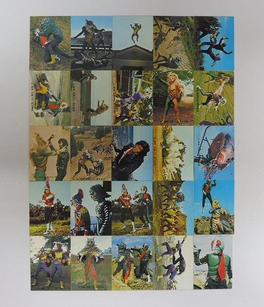 カルビー 旧 仮面ライダー カード 372-398 セミコンプ_1