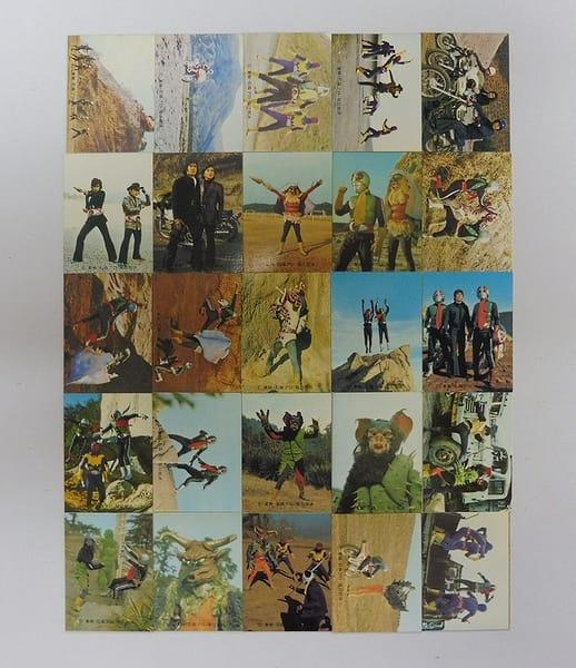 カルビー 旧 仮面ライダー カード 450-479 セミコンプ_1