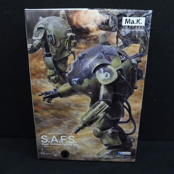 WAVE 1/20 Ma.k. S.A.F.S. マネーシンクリーガー