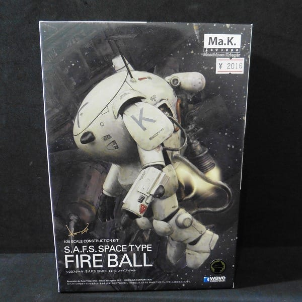 wave 1/20 Ma.K. ファイアボール S.A.F.S. SPACE TYPE_1