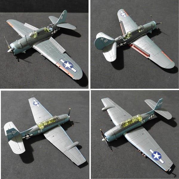 ホビーマスター 1/72 SB2C-3 ヘルダイバー TBM-3_3
