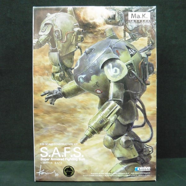 wave 1/20 Ma.K. S.A.F.S / マシーネンクリーガー_1