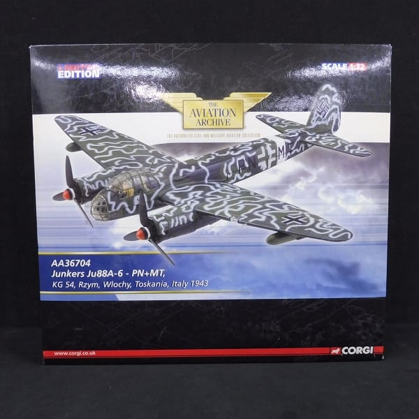 コーギー 1/72 ユンカース JU-88A-6 – PN+MT / ドイツ_1