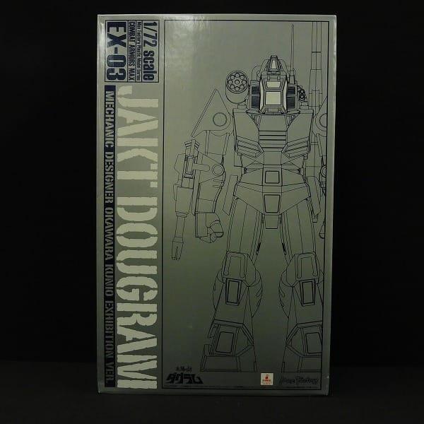 MaxFactory 1/72 EX-03 ヤクト ダグラム 大河原Ver.