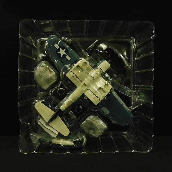 ホビーマスター 1/48 F4U-1A コルセア ホワイト29_3