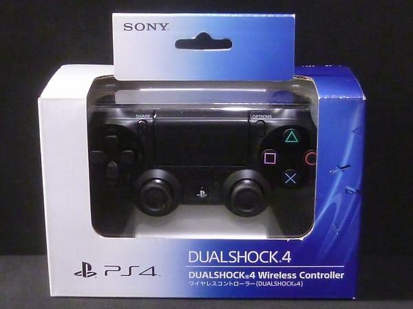 SONY PS4 専用 ワイヤレスコントローラー DUALSHOCK4 黒