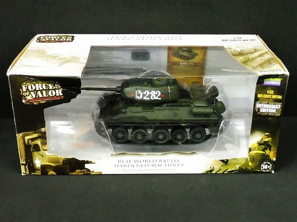 UNIMAX FORCES OF VALOR 1/32 ソビエト 中戦車 T-34/85