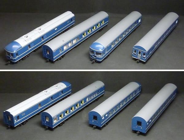 KATO HOゲージ 3-504 20系特急寝台客車 4両基本セット_3