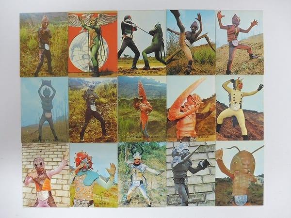 カルビー 当時物 旧 仮面ライダー カード 3-26 15枚
