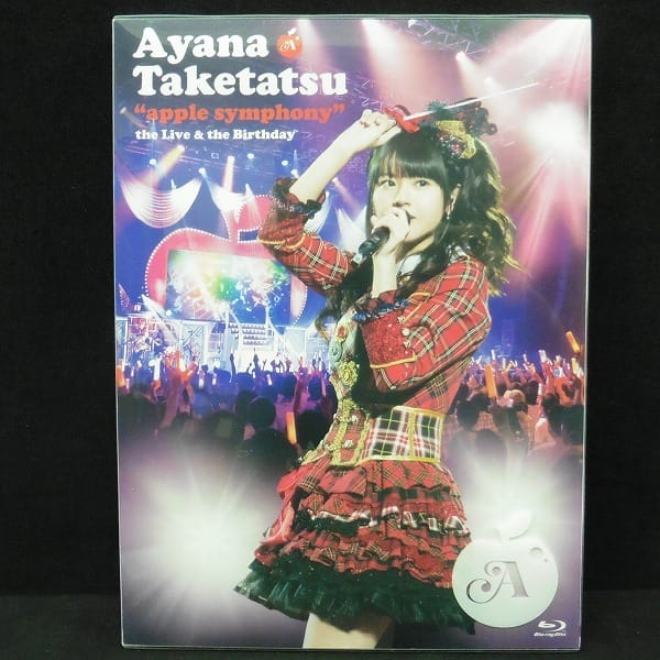 Blu-ray 竹達彩奈 apple symphony theLive&theBirthday_1
