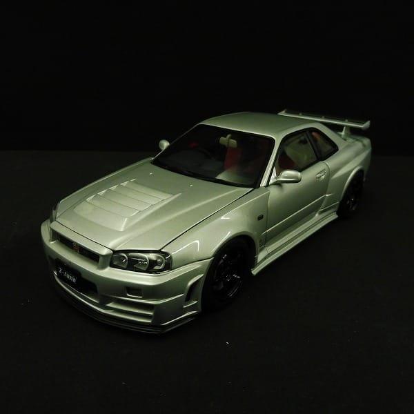 オートアート 1/18 ニスモ R34 GT-R Z-tune シルバー_2