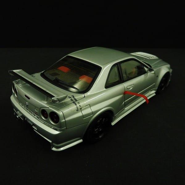 オートアート 1/18 ニスモ R34 GT-R Z-tune シルバー_3