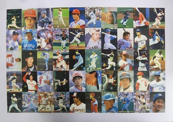 カルビー プロ野球カード 1986年 No.141~235 50枚