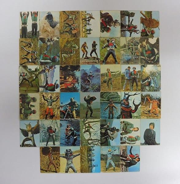 カルビー 当時物 旧 仮面ライダー カード 71-130 40枚
