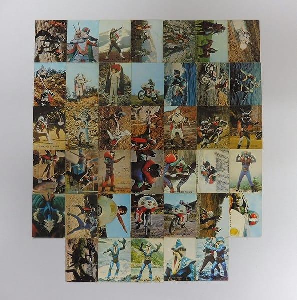 カルビー 旧 仮面ライダー カード 193-234 セミコンプ