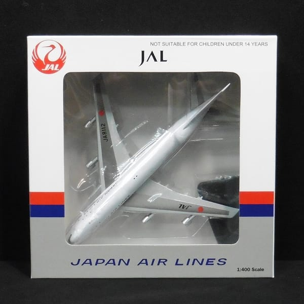 アポロ JAL 日本航空 1/400 B747-146 JA8112